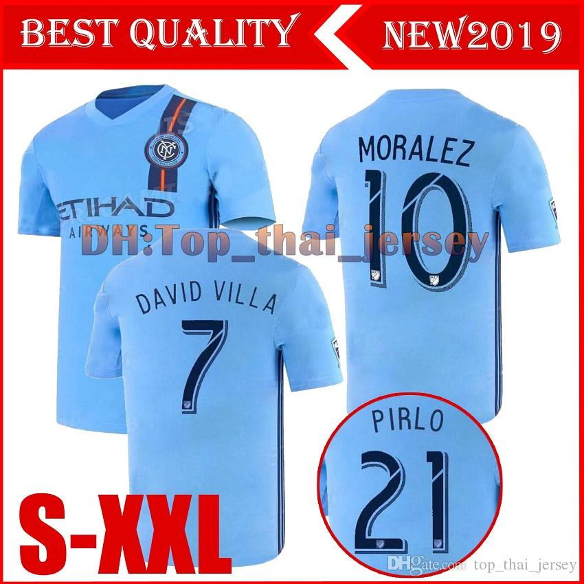 2019 2019 2020 Mls New York City Soccer Jerseys 19 20 Matarrita Moralez Pirlo David Villa Football Shirts From Top Thai Jersey Price Dhgate Com