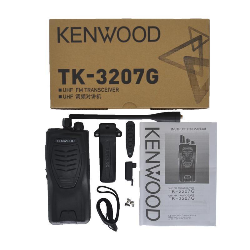 TK-3207G يتحملها اتجاهين راديو محمول جهاز الإرسال والاستقبال UHF 5W طويل المدى النظير المدنيين الراديو TK-3207