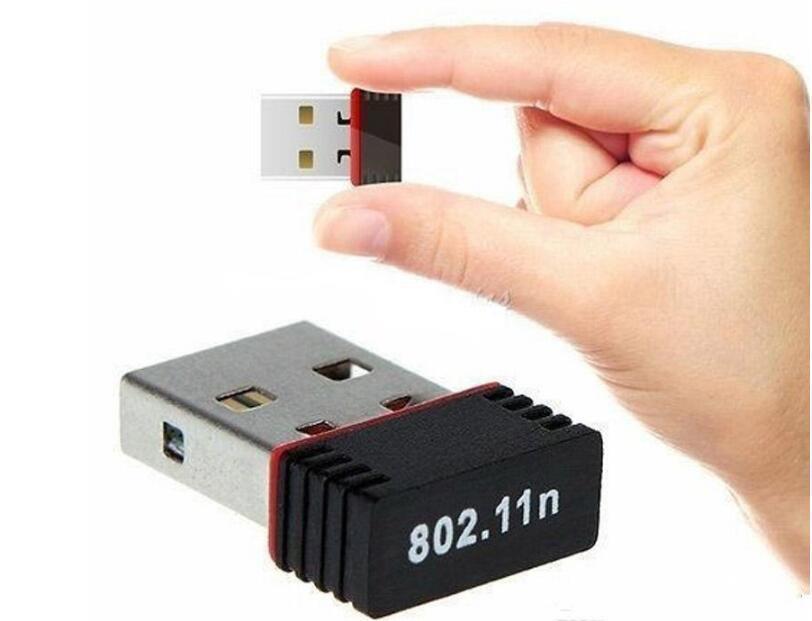 USB 나노 미니 무선 와이파이 동글 수신기 어댑터 네트워크 LAN 카드 PC 최대 150Mbps의 USB 2.0 무선 네트워크 카드는 IEEE 801.11n