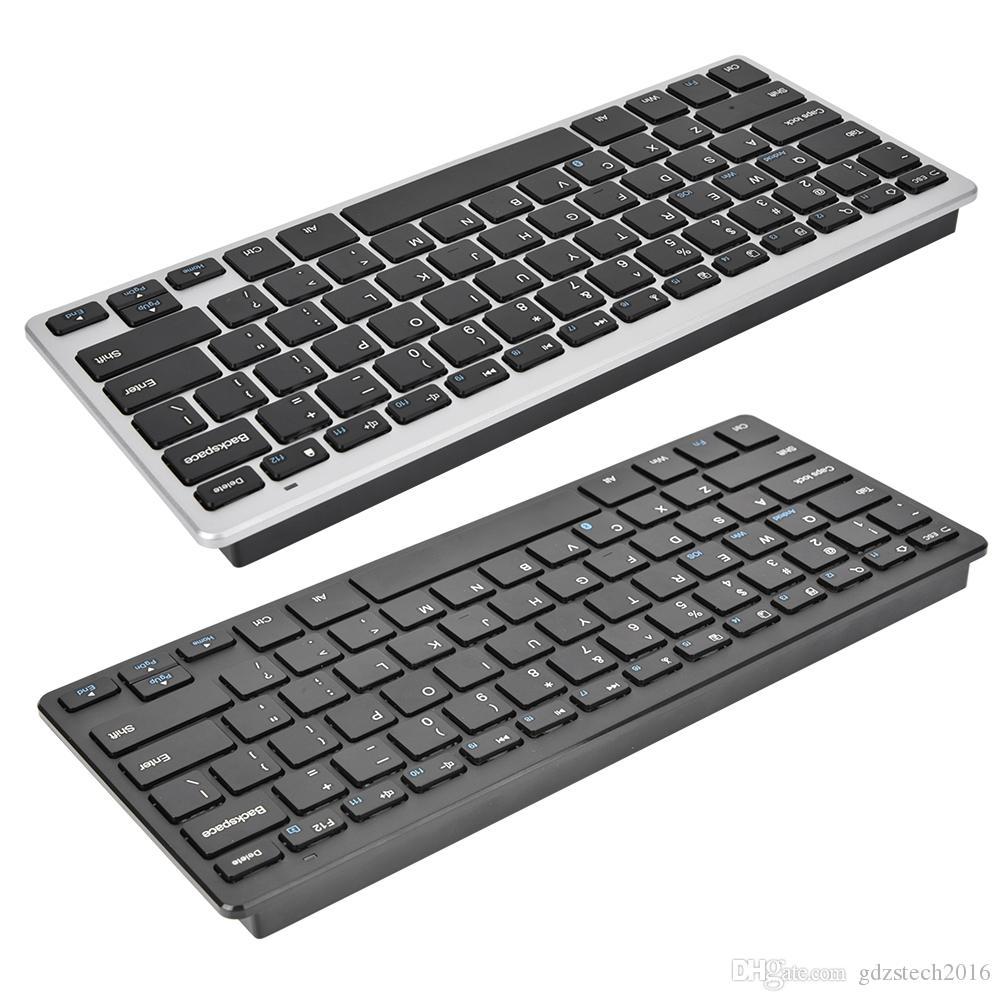 WK103 울트라 슬림 무선 키보드 태블릿 PC 스마트 폰 안드로이드 TV 박스 프로젝터 Bluetooth3.0 키보드