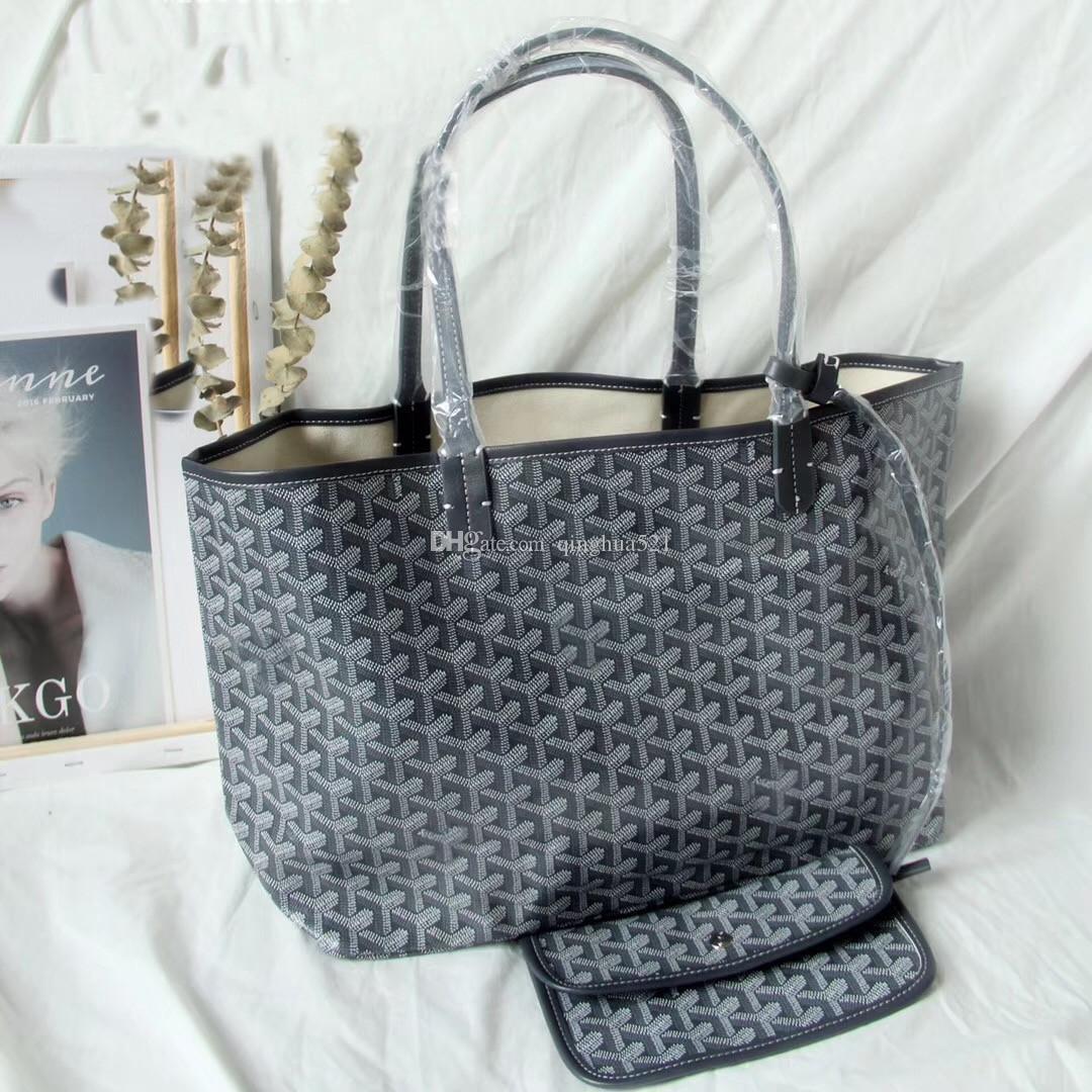 borsa canestro stile francese Paris vegetale spalla 2020 nuovo arrivo famoso designer di grande capacità lettera Goya shopping bag borsa da spiaggia dimensioni GM