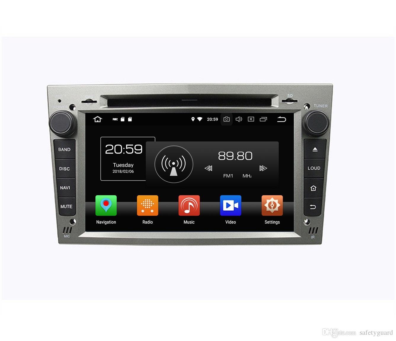 "4GB RAM Octa Core 7 ""Opel Vectra Antara Zafira Corsa Meriva Astra GPS WIFI 블루투스 USB 미러 링크 용 Android 8.0 차량용 DVD 라디오"