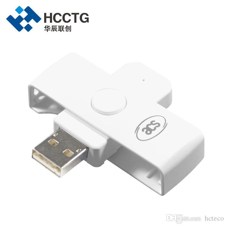 EMV Mini Mobile Type A Pocket ISO 7816 Contact IC Smart Card Reader Writer with SDK ACR39U-N1