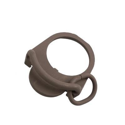 Kublai double côté d'extrémité plaque flexible QD Sling Mont bouton botton ajustement adaptateur pour M4 M16