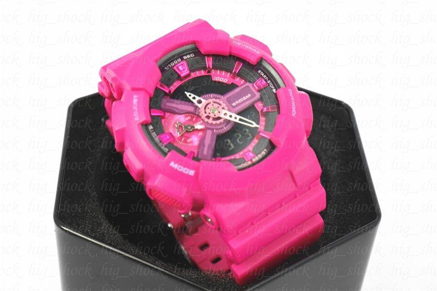 Pequenos ponteiros funcionam Hot marca dos homens esportes digital relógio de pulso, reloj hombre Exército Militar relógio cronógrafo relogio masculino