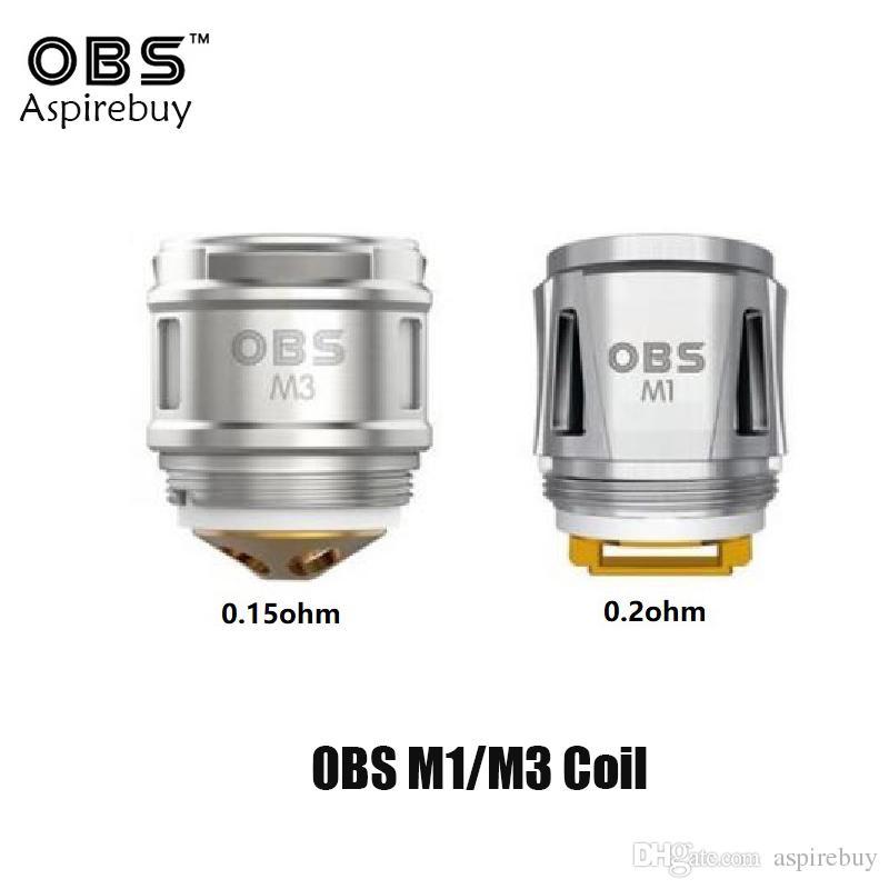 OBS Draco//Cube M1 Lot de 5 bobines de Maille 0,2 ohm