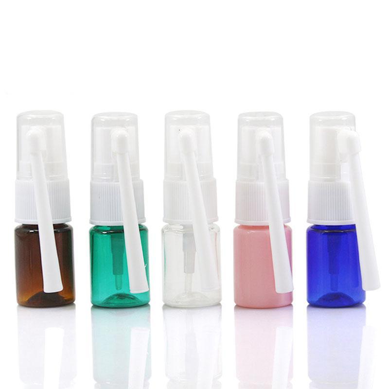 5ML ПЭТ бутылки ствол спрей 360 градусов спрей пластиковые бутылки спрей косметической упаковки инструмента DN074