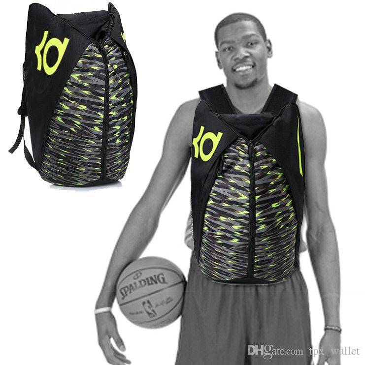 Kevin Durant mochila KD envío gratis mochila de jugador de baloncesto mochila Imprimir mochila portátil Mochila deportiva Mochila de día al aire libre