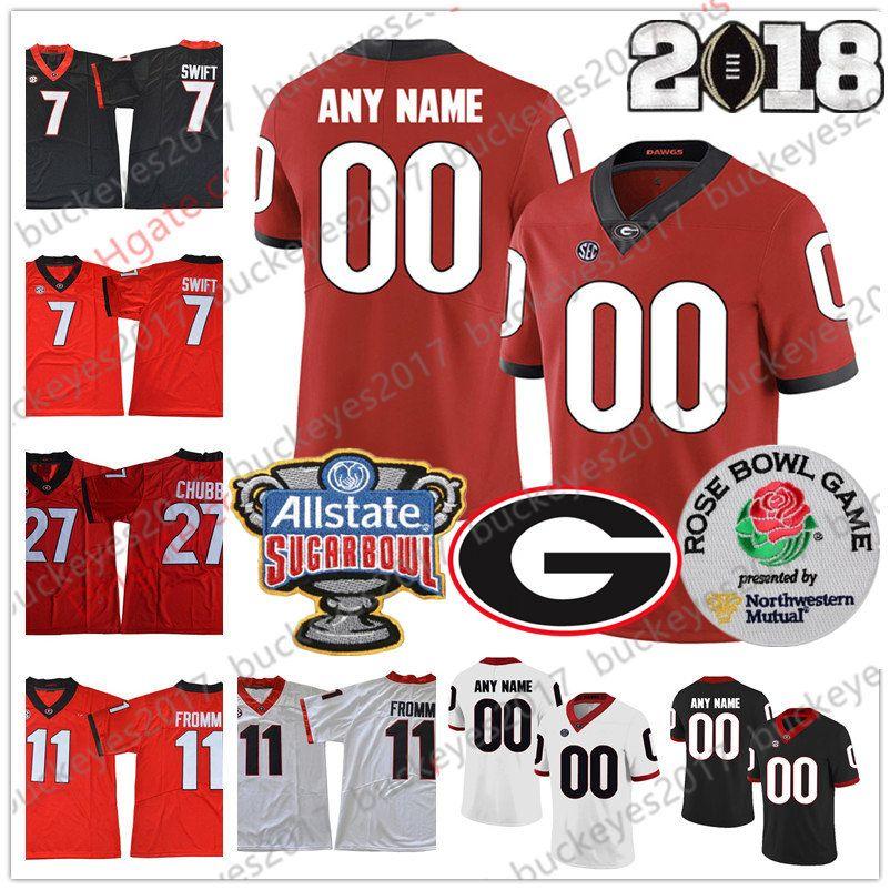 georgia bulldog jerseys personalized