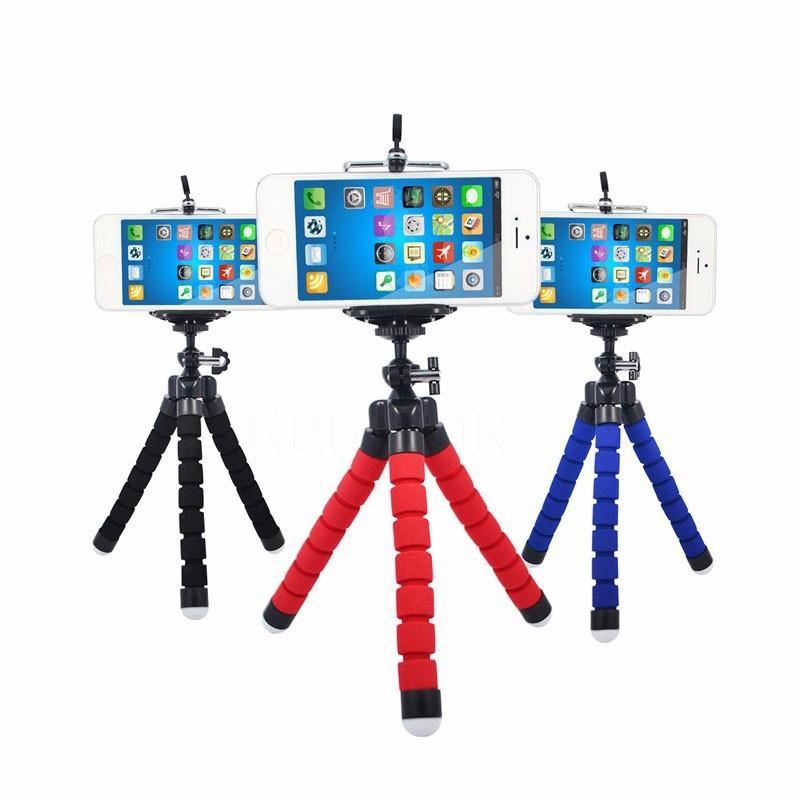 Phone Selfie stick Sponge Octopus Tripod Bluetooth Selfie Set Suit Stand Wide Angle Macro Fisheye Tripod For iphone Samsung Huawei