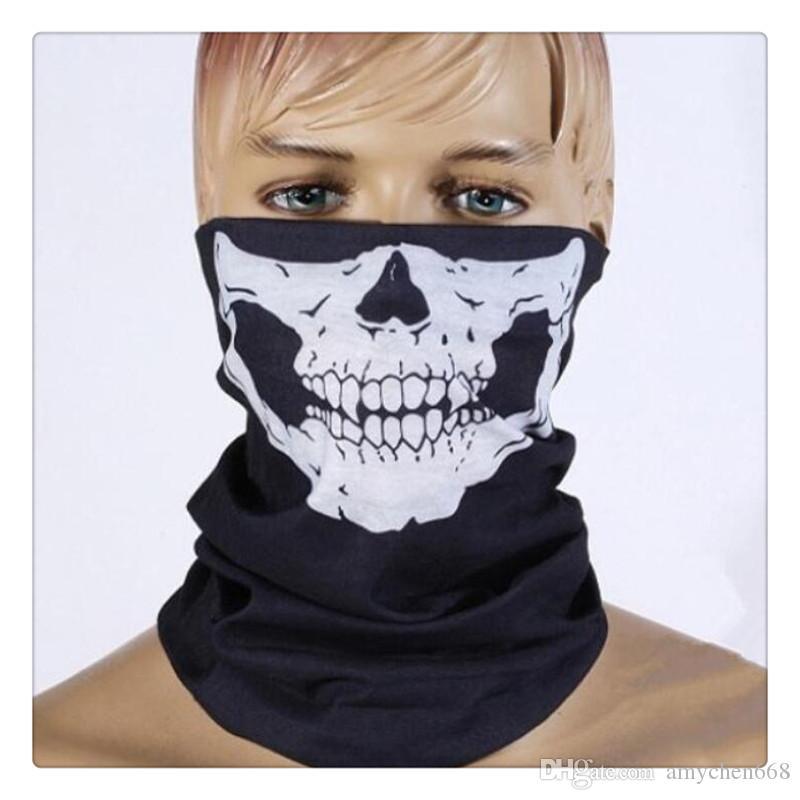 SKELETON Design Multi Function Bandana Ski Sport Motorcycle Scarf Face Mask