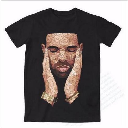 Casual Mens Womans Drake OVO 3D HD Imprimir camiseta Verano de manga corta O-cuello camiseta Moda estilo camisa unisex Marca Tees RX010