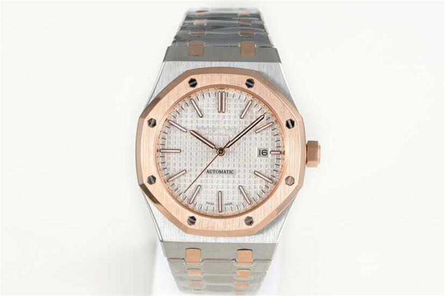 De haute qualité 3120 de luxe mouvement Montrésor 41mm 15400 montres design V6 mise à niveau des montres pour hommes de luxe en verre saphir reloj de Lujo