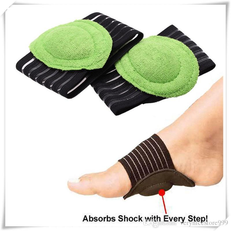 Mounchain Unisex 1pair Ankle Protection Breathable Foot Arc Thickened Foot Mat Sports Ankle Support Shoe Insole Pad Bandage Strap
