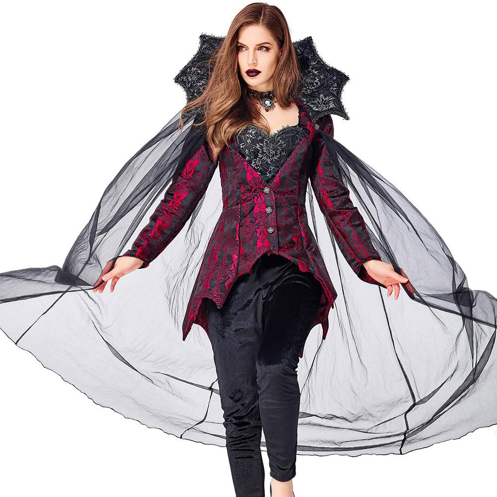Lcw women's new design various role playing Halloween Christmas costumes sexy cosplay prom dress Vampire Count Queen