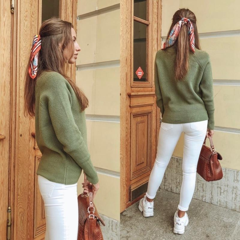 2019 GIGOGOU Oversized Autumn Winter Women Sweater Thick Knitted Loose Pullover Top Long Sleeve Soft Jumper Jersey Crochet Pull Femme MX191101 From