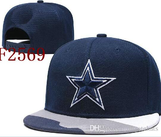 2020 Cap Futebol Cap Top Quality Cheap Snapback Mulheres Homens plana Brim Strapback osso New Orleans Dallass Chapéus DAL boné de beisebol 01