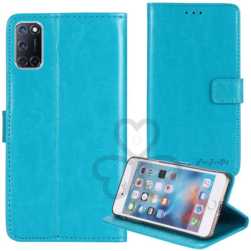 YLYH TPU Silicone Protective Vintage Leather Rubber Gel Cover Phone Case For OPPO A52 A92s Ace2 Realme C3 6 Pouch Shell Wallet Etui Skin