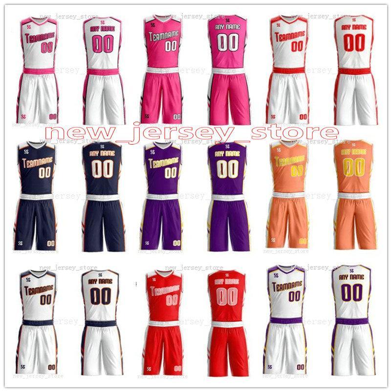 Personalizza Qualsiasi nome Qualsiasi Camicie uomo numero delle donne della signora Bambini Gioventù Maschile di pallacanestro pullover di sport come le immagini che offrite ZZ0102