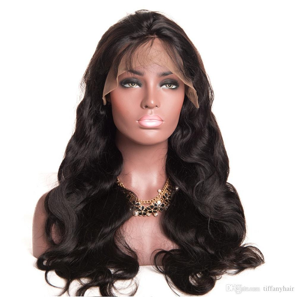 H Body Wave Lace Front Human Hair Wigs For Black Women Hair Pre Plucked Lace Frontal Wig Non Remy Front Lace Wigs