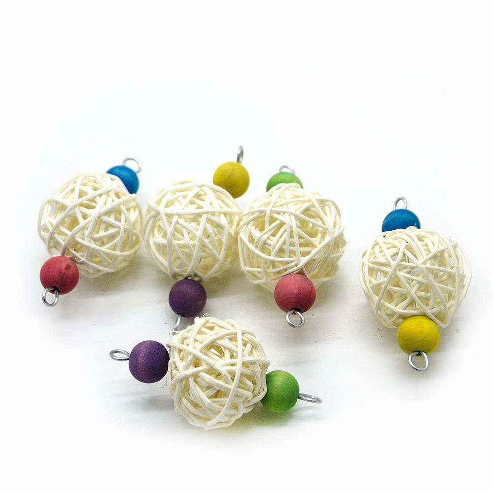 Parrot Gnaw Toys Sepaktakraw String Foreign Trade Collocation Fund Small Favour And Put Sb. In Important Position Product