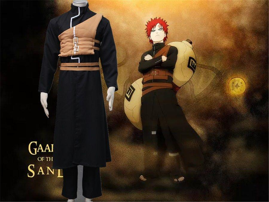 NARUTO Sabaku no Gaara cosplay costume