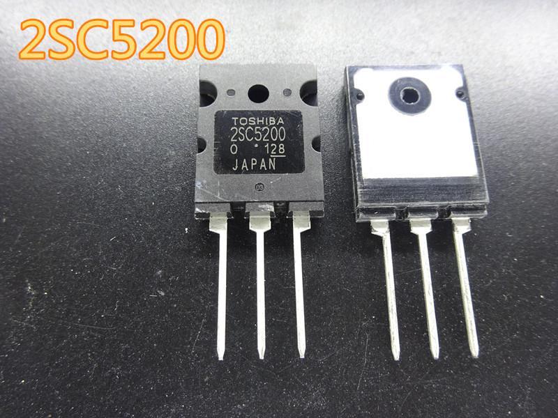 10pcs / серия новый Триод транзистор 2SC5200 5шт + 5 шт 2SA1943 Аудио транзистор в наличии бесплатной доставкой