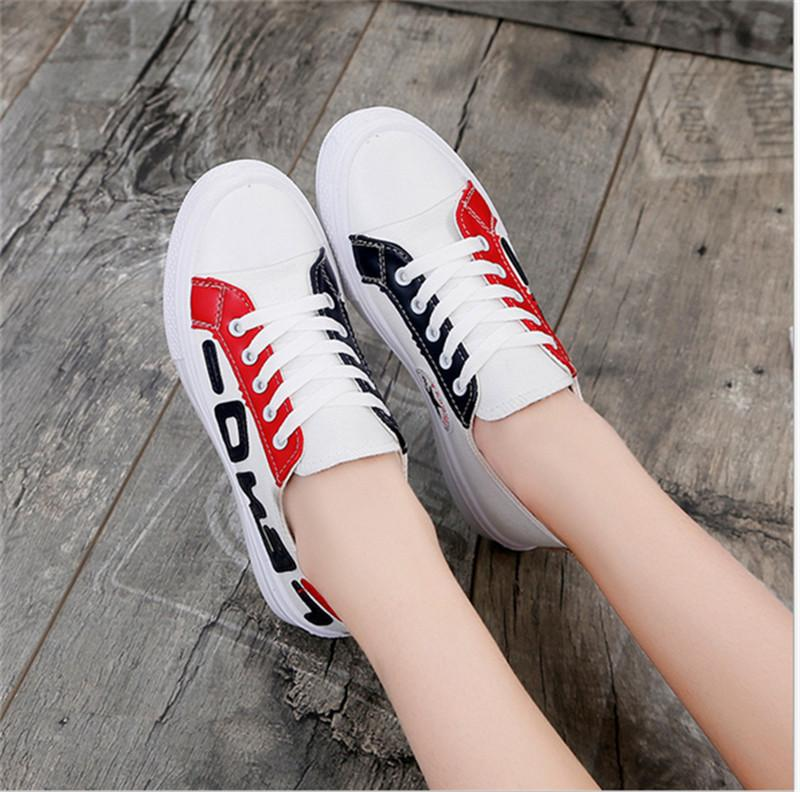 Girls Fashion Canvas Shoes Students