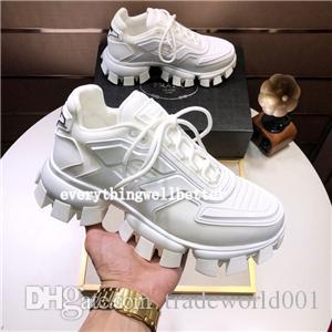 Prada shoes  las zapatillas de deporte de fondo es rojo zapato zapatos escotados del ante pico para hombres y mujeres zapatos de lujo del banquete de boda de cuero cristalina