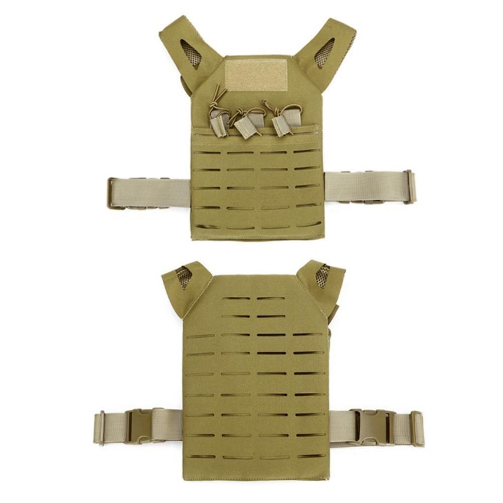 Kinder Kinder Armee-Grün taktischer Kampf-Weste im Freienjagd Wargame Paintball Schutz JPC Vest Leichte Weste Airsof