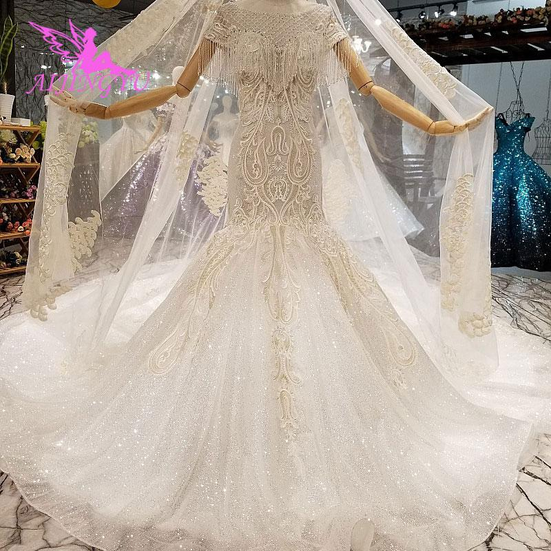 Wholesale Perfect Wedding Dresses Plus Size Clearance Bridal Shower Illusion Lace Hangzhou Gown Wedding Dress 2 In 1 Mermaid Wedding Dress Lace Mermaids Wedding Dress From Haolinwedding 573 88 Dhgate Com,Tulle Plus Size Fit And Flare Wedding Dress