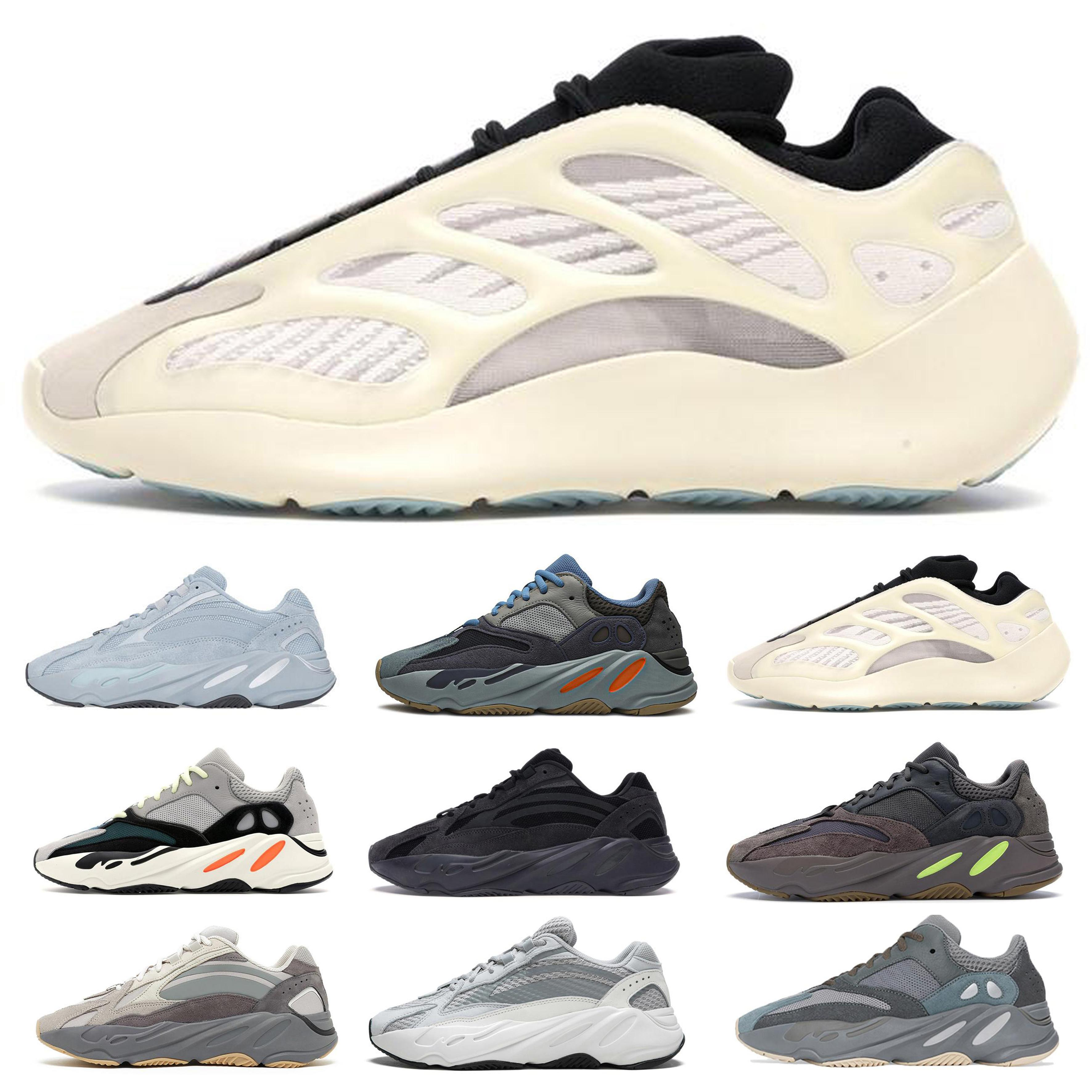 kanye west 700 мужские дизайнерские кроссовки роскошные женские повседневные воздушные туфли тройной черный белый красный des chaussures нижние спортивные кроссовки