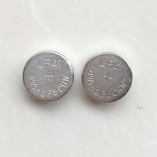 30000pcs per parti 0% HG PB Mercury Free AG3 LR41 392 SR41 192 1,5V Alkalisk knappcell Batteri för klockor, Gratis frakt Färska batterier