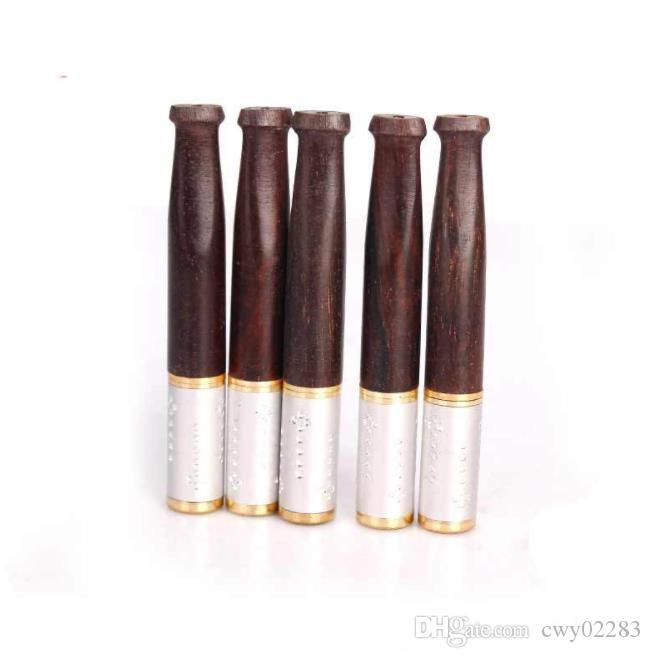 Металлический палисандр фильтр держатель сигареты может очистить тяги фильтр сигареты фитинги оптом