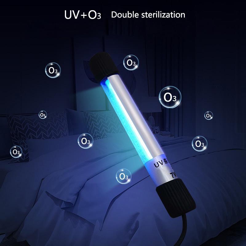 Kişisel Bakım Office için Yeni Taşınabilir El UV Sterilizatör UV antiseptik Lambası UVC Dezenfeksiyon Ekipmanları