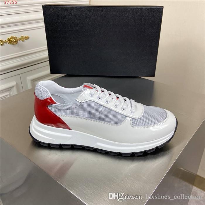 Mens nouveau été espadrille arrière rouge baskets tissu maille respirante sports de plein air de voyage de loisirs chaussures de course