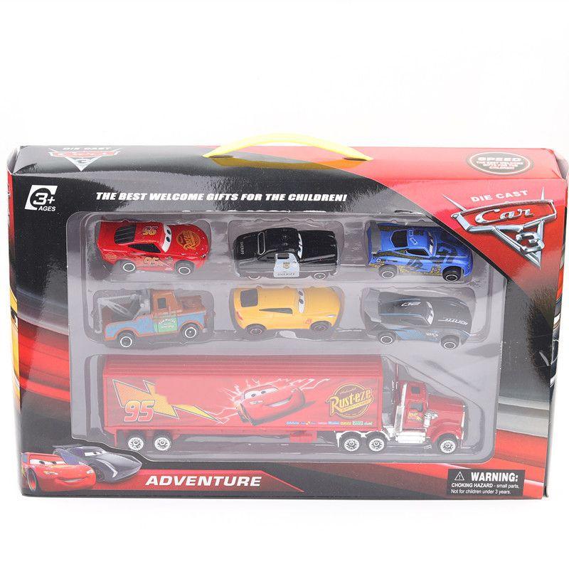 2020 Pixar Truck Car 3 Toys Jackson Storm Cruz Mater Mack Uncle
