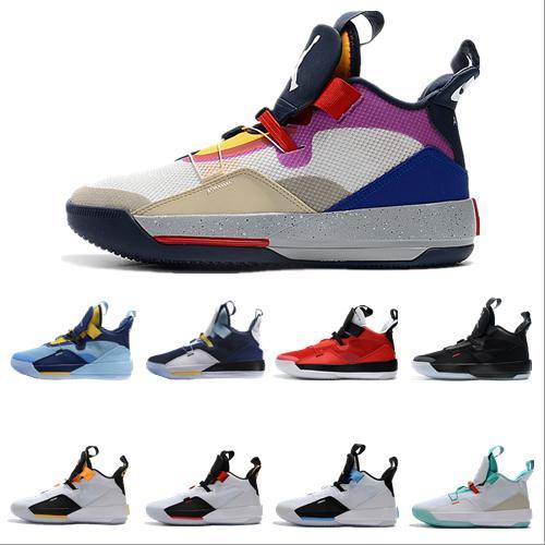 2020 новый Jumpman XXXIII 33 дизайнерская обувь мужские 33s золото / чемпионат MVP финал тренировочные кроссовки спортивная обувь размер 40-46