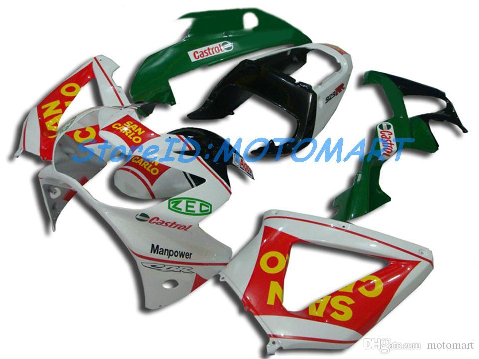 Kit de rebarbação para HONDA CBR900RR 929 00 01 CBR 900RR 2000 2001 CBR 900 RR ABS Carimbos e matrizes HON115