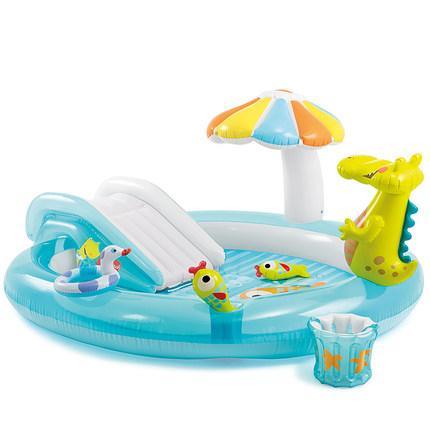 INTEX infantil natação infantil inflável da associação Grande Família Bola Oceano Piscina Areia Home Baby pulverizador de água Piscina Inflavel