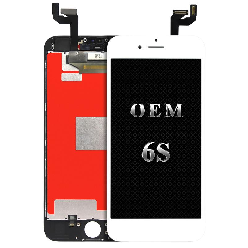 (100% Tested) For iPhone 6S 6S Plus Original LCD + Original Backlight + Original IC LCD Display Touch Screen Digitizer & Good 3D Touch