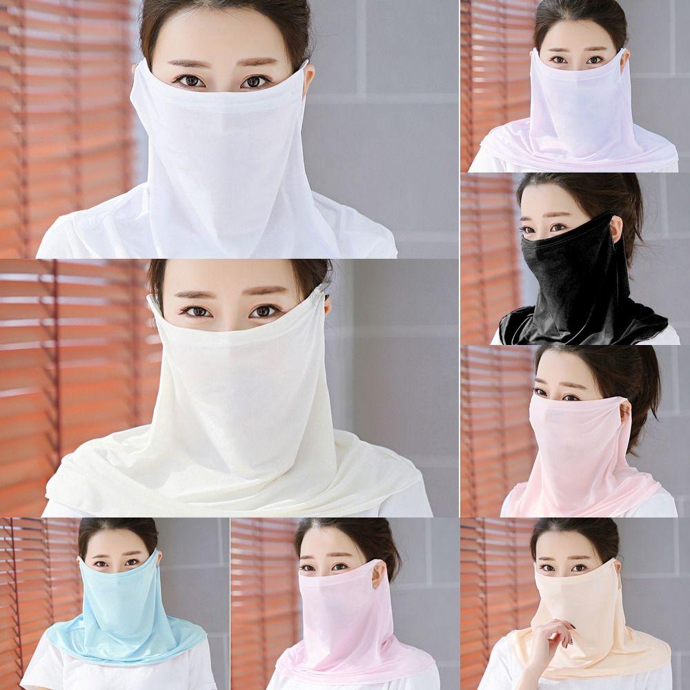 GMe6q I Foulard Respirez Bandana Visage de protection anti-poussière extérieure respirant écharpe Masque vélo magique ne peut pas Masques couverture