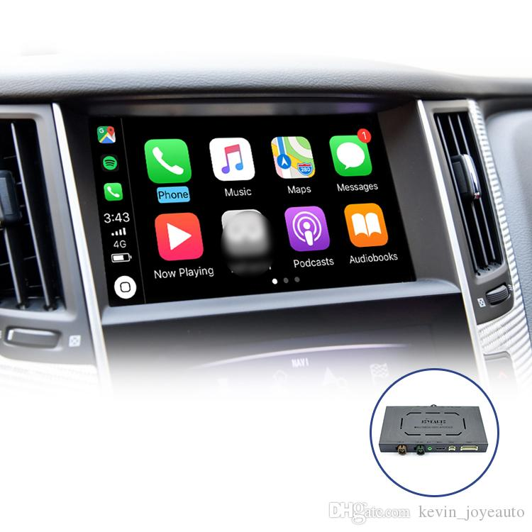 Joyeauto drahtlose Apple-Carplay Retrofit für infiniti 2015-2019 Q50 Q60 Q50L QX50 Auto Play-Smart Box iOS Airplay Android Auto