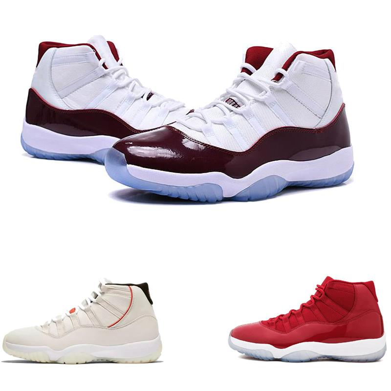 designer shoes Platinum Concord 11 Tint Casual shoe 11s Athletic sneakers Retro Bred Gym Red Chicago Midnight Navy sport shoes