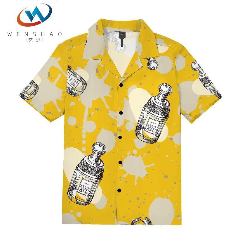 = 2020 ilkbahar yaz marka etiketi elbise erkekler Polo tişört yaka yaka kumaş mektup eğlence erkekler tişörtler ParisJJ8 Marka adı