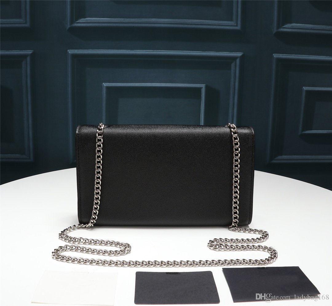 Yeni Moda Lüks Tasarımcı Kadınlar Çanta Yüksek Kalite Gerçek Deri Çapraz Vücut Püskül Flap Çanta Mischpalette Siyah Çanta Bez Çantalar Smooth