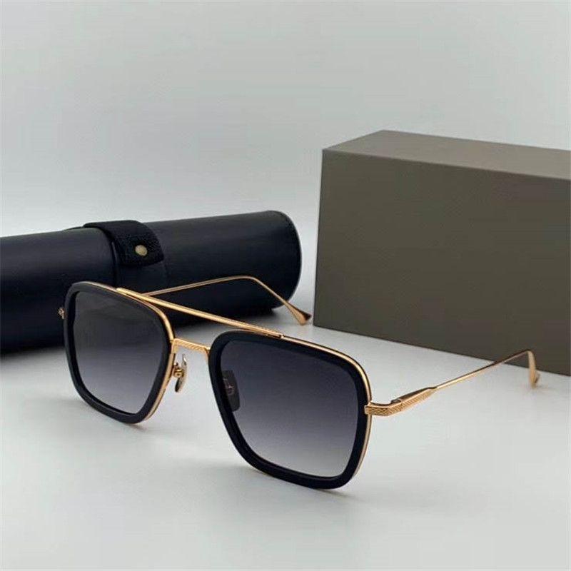 Freie Global Logistics Flight 006 Die neuesten Design-Stil für Männer und Frauen Luxus-Sonnenbrille Die beste Qualität UV400