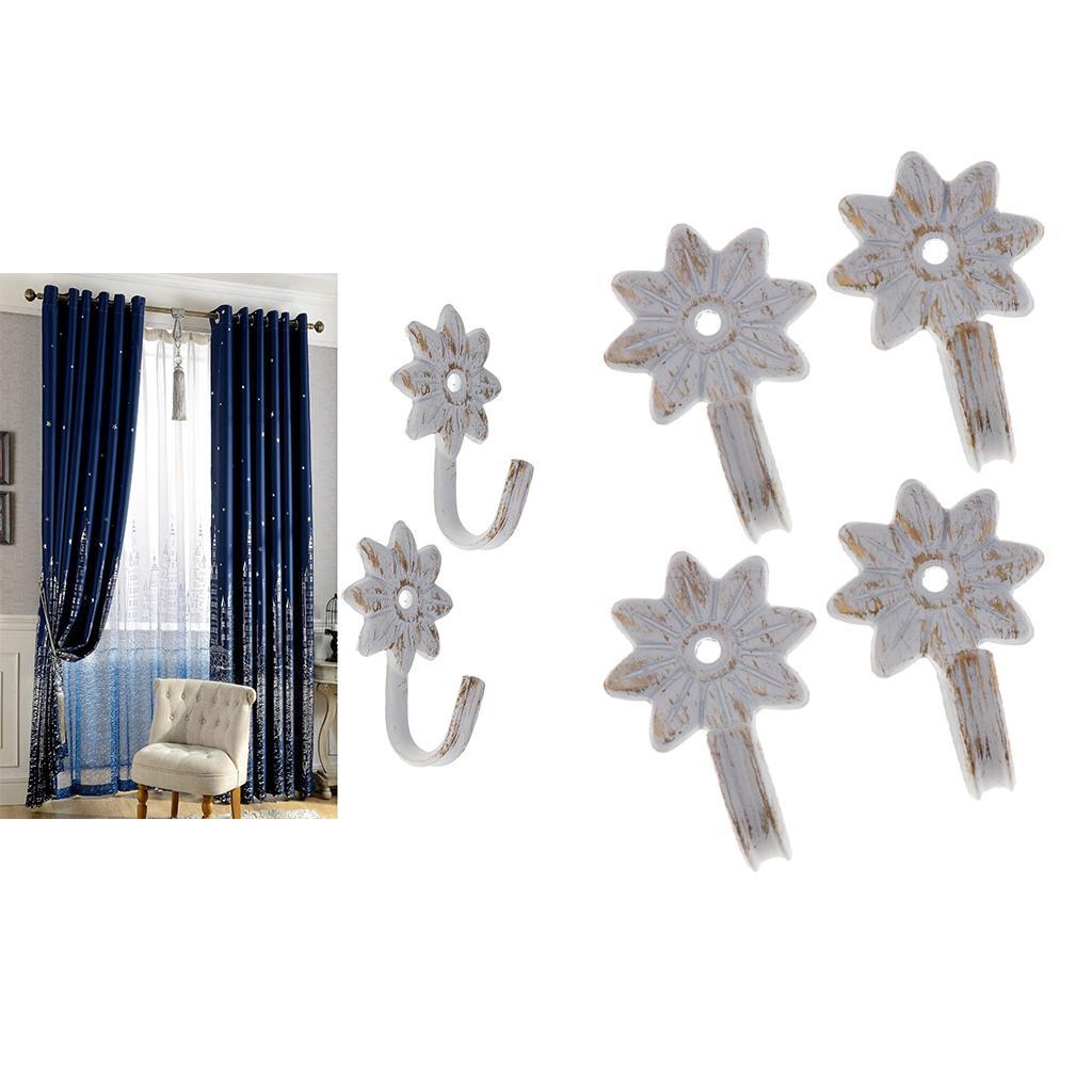 4 Satz Fenstervorhang drapieren Fringe Tieback Tie Zurück Blinde Zusatz-Weinlese Ornament