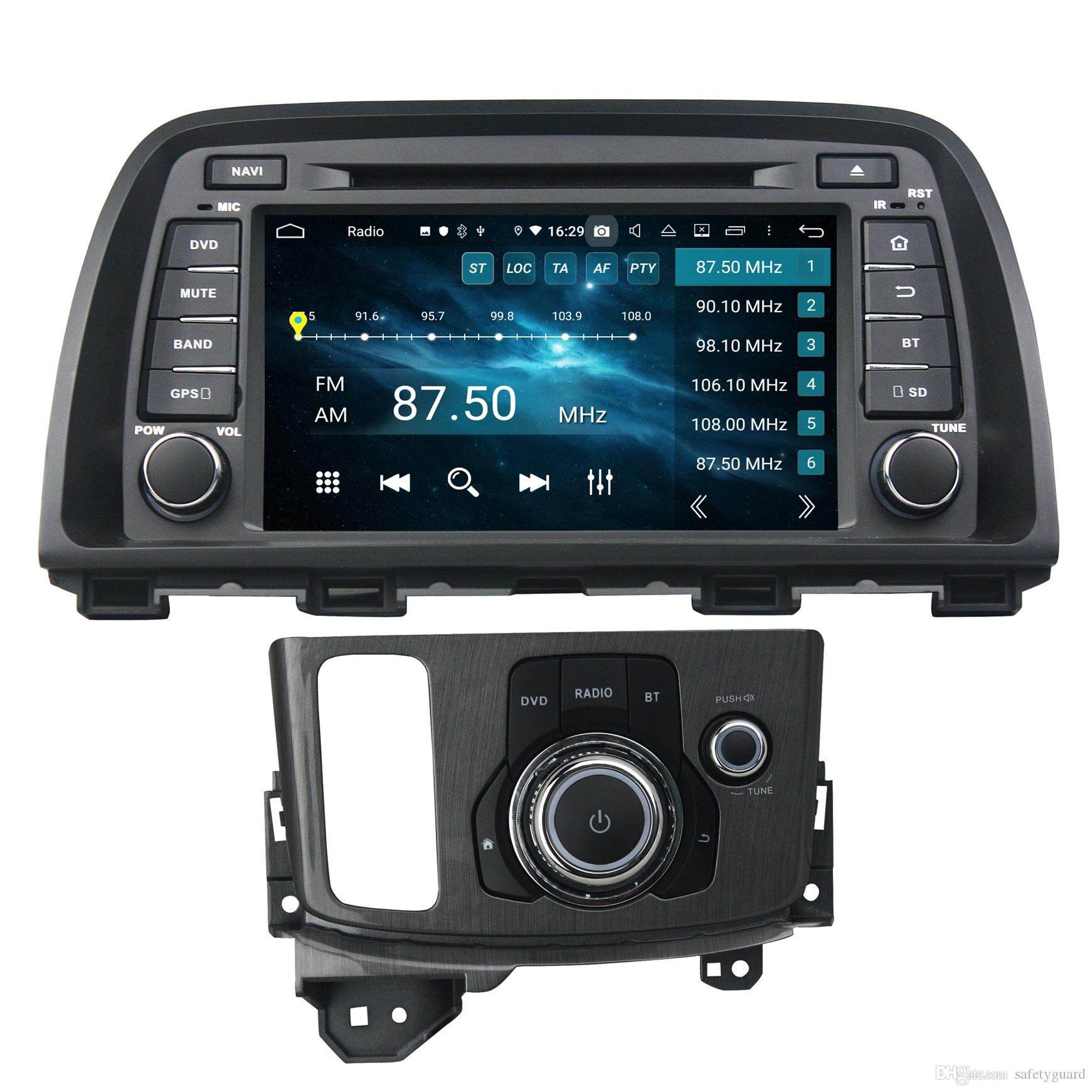 "IPS PX5 4GB+64GB 2 din Android 9.0 Octa Core 8"" Car DVD GPS for Mazda CX-5 CX5 2013 2014 Audio Radio Bluetooth 4.2 WIFI USB"