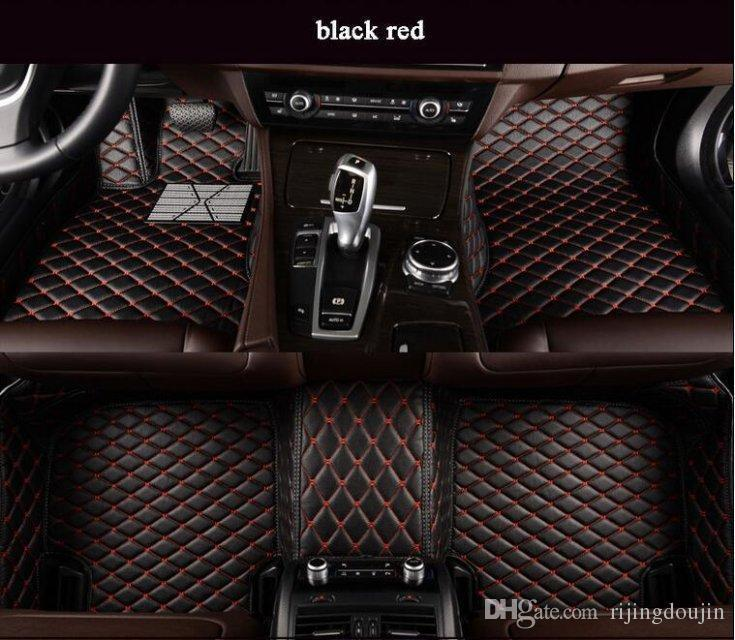 For Fit Car Floor Mats Suzuki Ignis Kizashi Swift SX4 Vitara All-Weather Waterproof Front Rear Non-slip Carpets